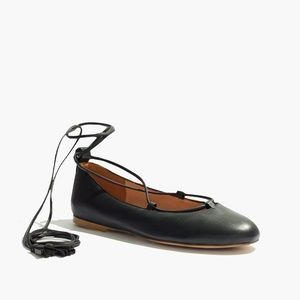 Madewell Lace-Up Flats